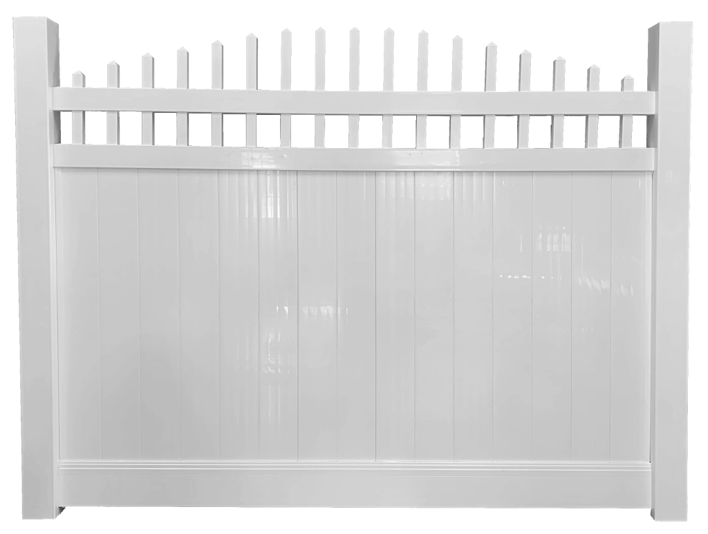 Arched Top Privacy Fence