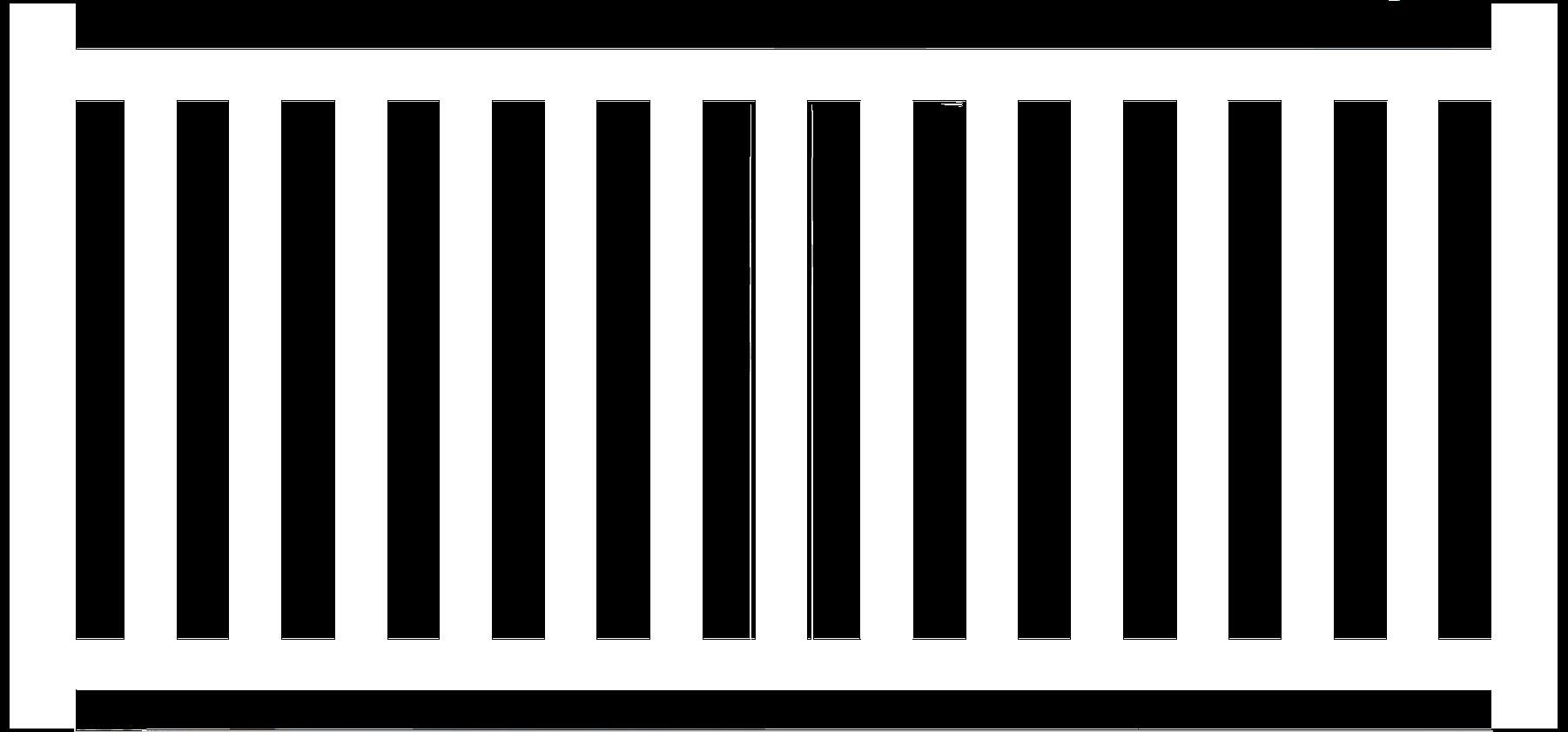 "3"" Vinyl Pool Code Fence"