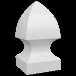 """4"""" Gothic Post Cap"""