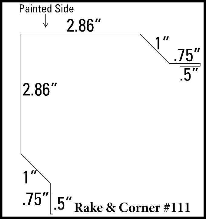 Rake & O/S Corner
