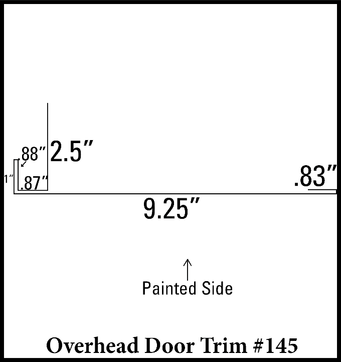 Overhead Door Trim