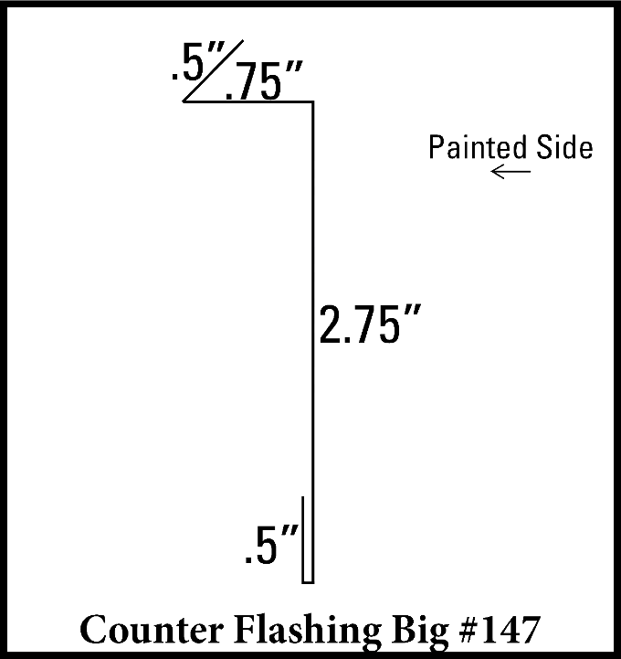Big Counter Flashing