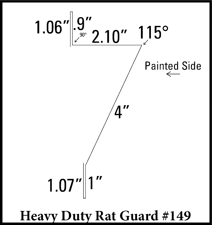 Heavy Duty Rat Guard