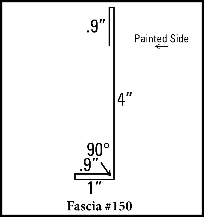 """4"""" Fascia"""