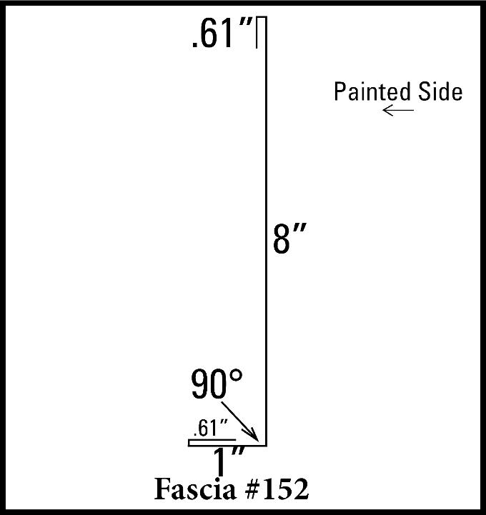 """8"""" Fascia"""