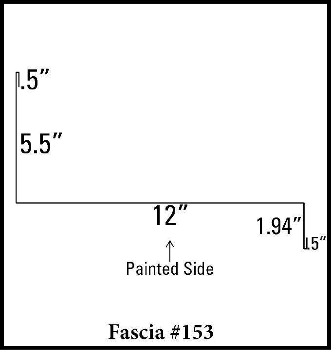 """12"""" Fascia"""