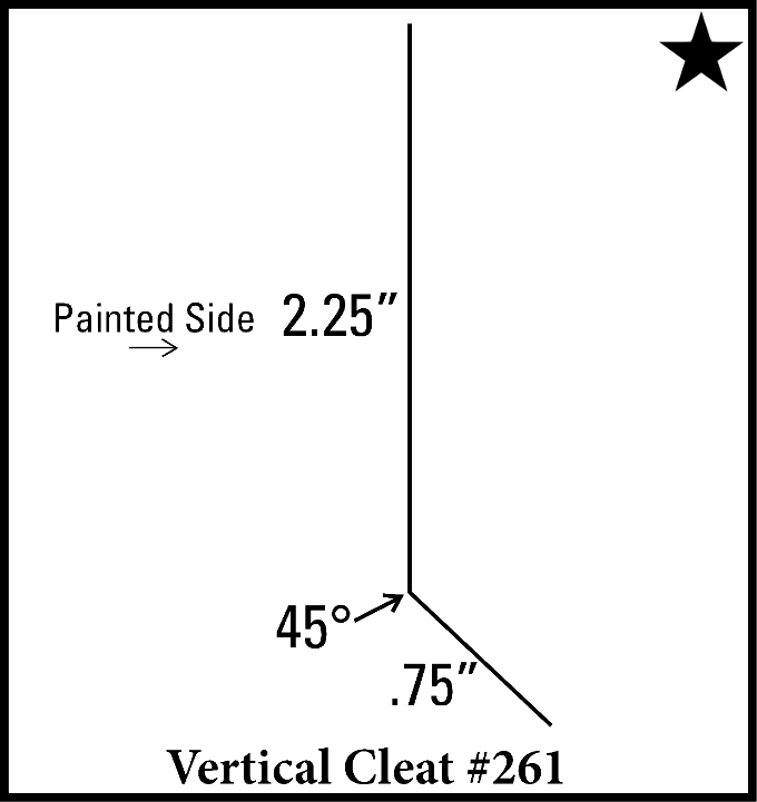 Vertical Cleat