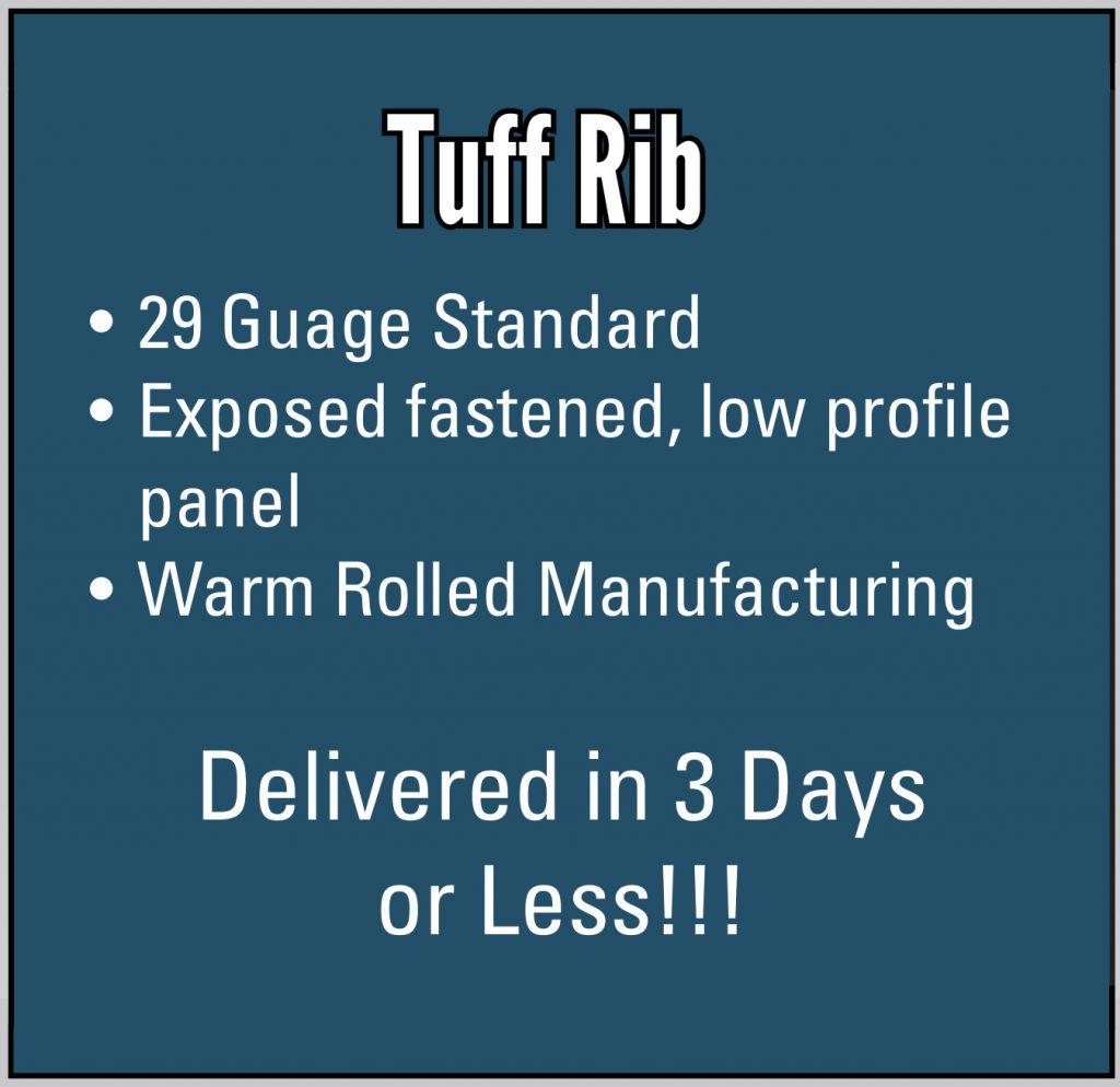 Tuff Rib Panel Bullets